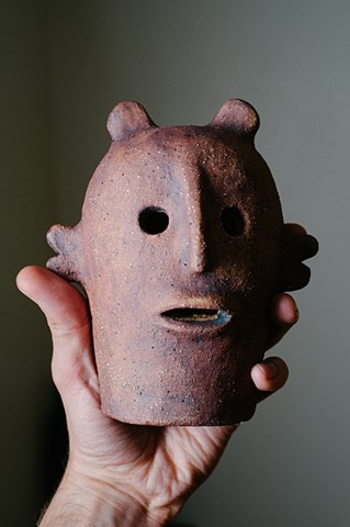 Portrait ceramic Haniwa