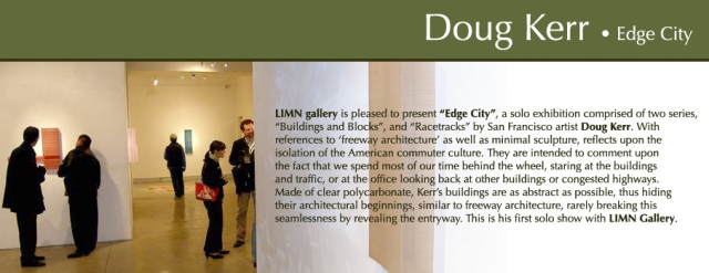 Doug Kerr Solo Exhibition at LIMN Gallery