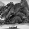"""Yang Yongliang """"On the quiet Water, Sunken Ship"""""""