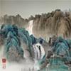 """Yang Yongliang, """"Viridescence, Stock World"""""""