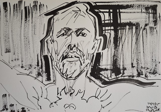 Conor McGregor Ready To Fight, UFC, brush and Indian Ink, david murphy