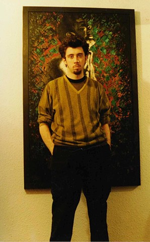 David Murphy, Cypher, The Panic Artist, writer, painter, Irish, Ireland, Dublin