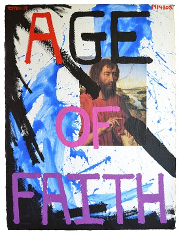 Age of Faith, Cypher, The Panic Artist, David Murphy, Dublin, Ireland, Irish