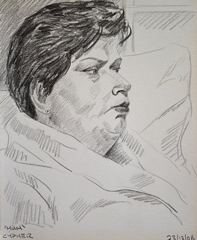 Mum Sketch No. 1