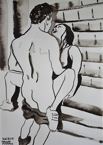 neo-expressionism, expressionism, outsider, erotic, erotica, porn art, contempoary, new