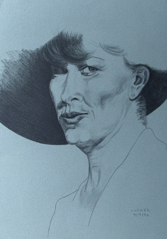 Mature Woman in Hat