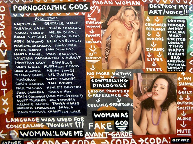 pornography, porn, painting, erotica, art brut, outsider, neo-expressionism, expressionism