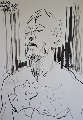 Conor McGregor, UFC, brush and Indian Ink, david murphy