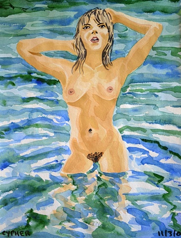 Nude Woman in Sea No. 2