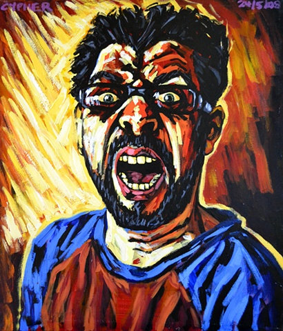 Screaming Self-Portrait No. 1