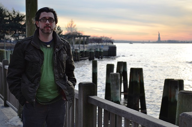David Murphy, Cypher, The Panic Artist, photograph, statue of liberty