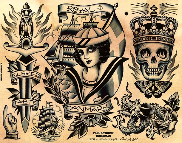 traditional tattoo flash wallpaper - photo #27
