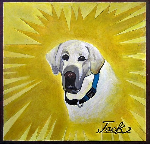 Labrador, pet art