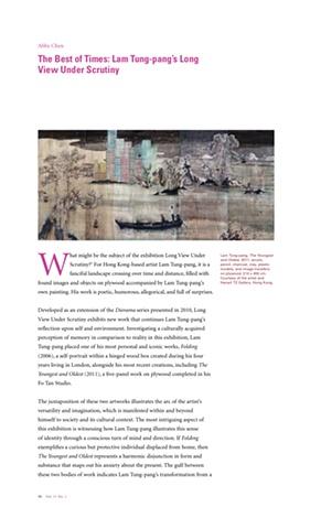 Writing on Yishu, Volume 11, Number 1, Jan/Feb 2012