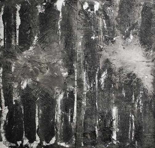 Evaporation, Ink on paper, 2011