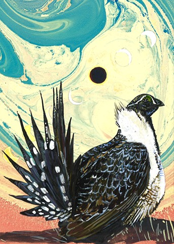 Gabrielle Reeves: Sage Grouse