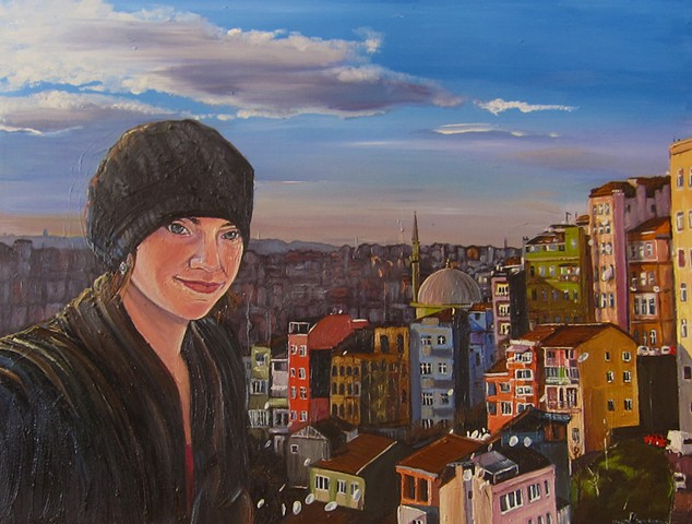 Gabrielle Reeves: Self Portrait in Istanbul