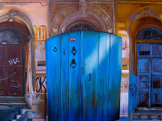 Mavi Kapisi/Blue Door