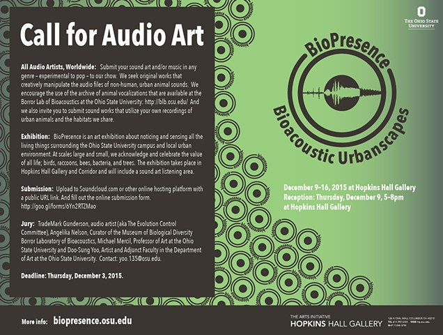 Bioacoustic Urbanscapes