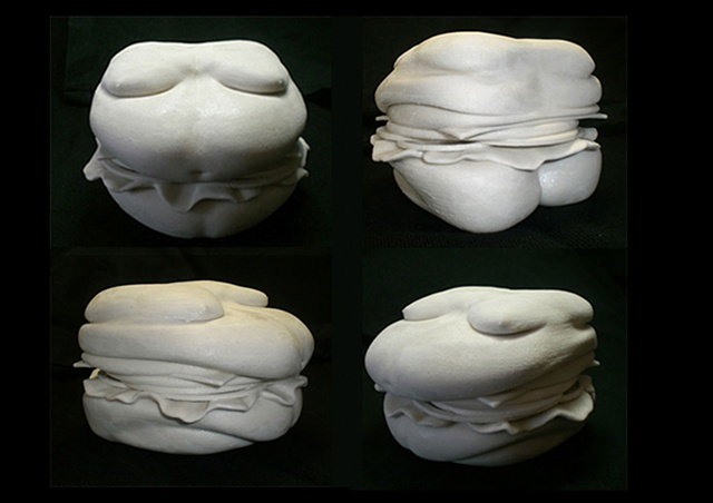Hamburger-torso [2006] by Doo Sung Yoo