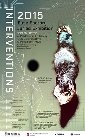 The Fuse Factory's juried exhibition 2015, INTERVENTIONS