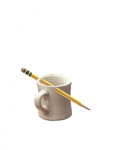 #2 Coffee Cup and Pencil