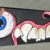 Hand Painted saw by Greg Vaughan
