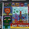 Shop Therapy Mural project by Joey Mars