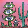 Eyeball Cactus by Joey Mars