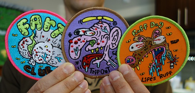 all 3 patches