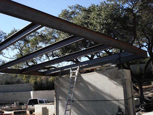 Carport Roof Raising
