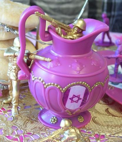 THE  ISRAELI  PALESTINIAN  TEA  PARTY      (CREAMER)
