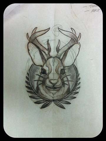 Jackalope Tattoo Tumblr Jackalope