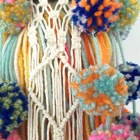 tassel, detail view