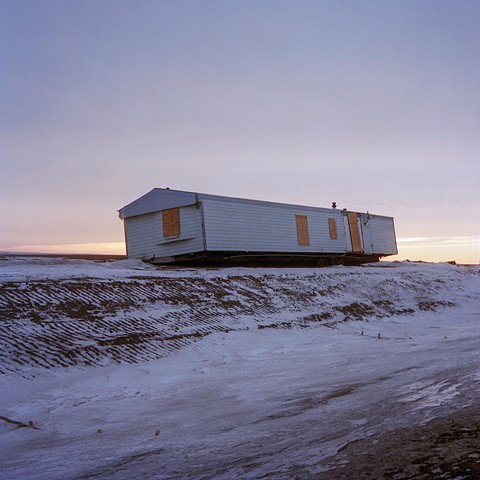 Untitled: Prefabricated Home on Roadside