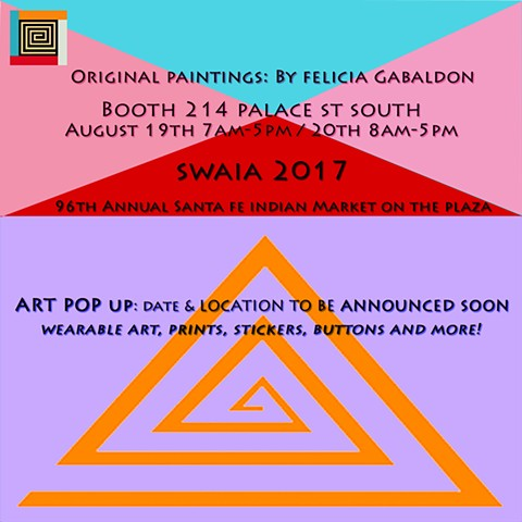 Participation In The Santa Fe Indian Market 2017