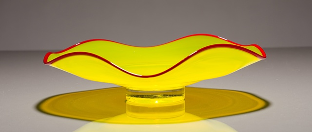 WAVE BOWLS-YELLOW/RED