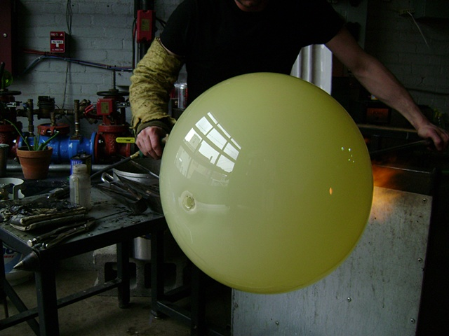 BLOWING A SPHERE