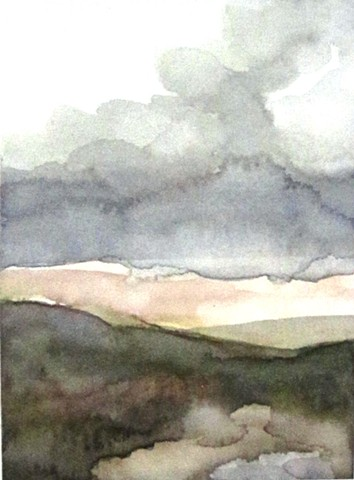 Watercolor Untitled 2