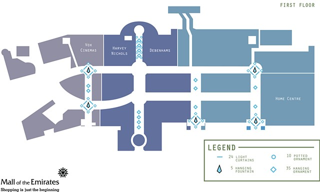 Matthew Goodman Mall Of Emirates Decor Floorplan