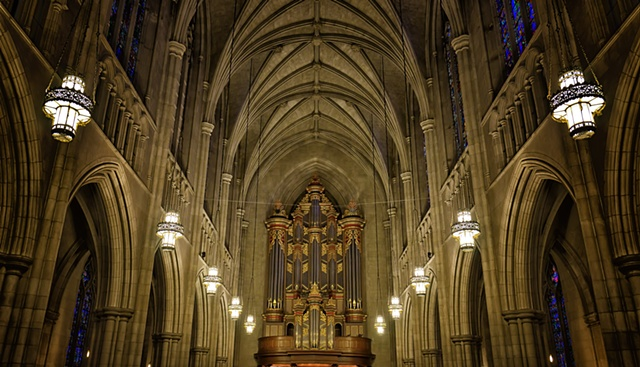 Pipe Organ at Duke Chapel, Duke University, NC