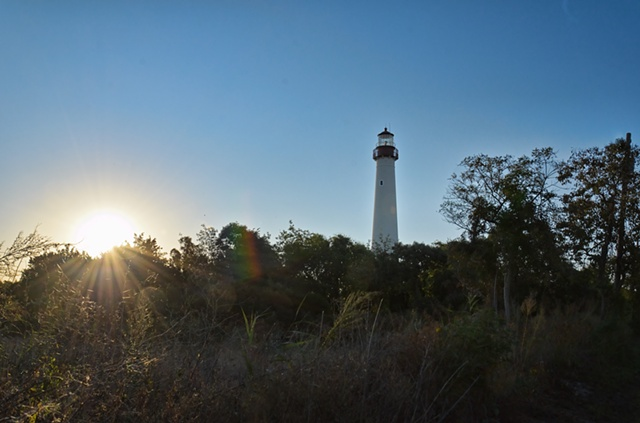 Sunrise at Cape May Lighthouse, Oct 2011