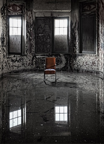 Lonely Chair at Pennhurst