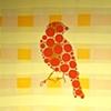 Orange Dot Goldfinch #2