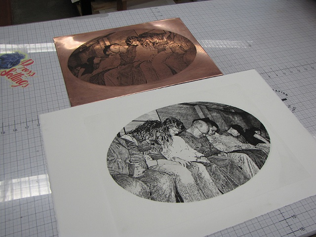 Plate and print
