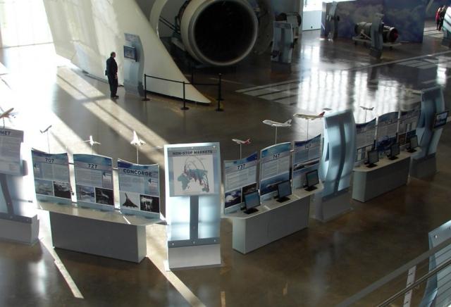 Future of Flight Museum - Information Kiosks