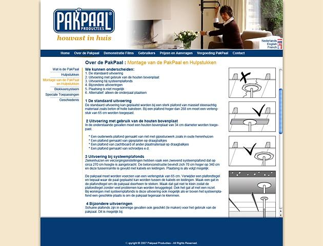 Pakpaal Website