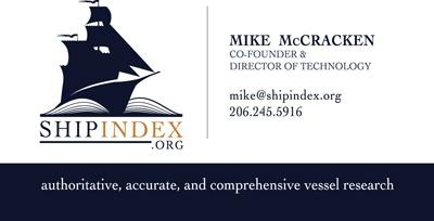 Ship Index - Business Card