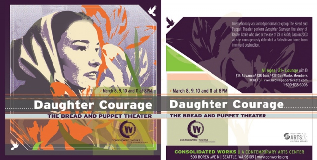 Daughter Courage - Rachel Corrie