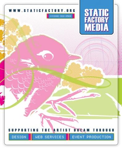 Static Factory Media : Rivet Magazine Advertisement